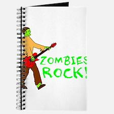 Zombies Rock! Journal