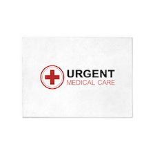 Urgent Medical Care 5'x7'Area Rug