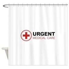 Urgent Medical Care Shower Curtain