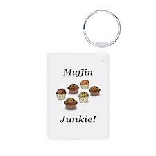 Muffin Junkie Keychains