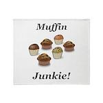 Muffin Junkie Throw Blanket