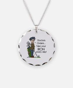 Golf Iron Every Day Necklace