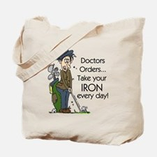 Golf Iron Every Day Tote Bag