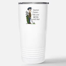 Golf Iron Every Day Travel Mug