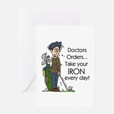 Golf Iron Every Day Greeting Card