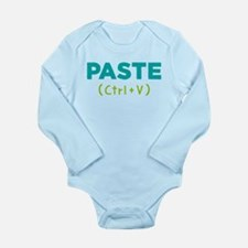 Paste (ctrl+v) Long Sleeve Infant Body Suit