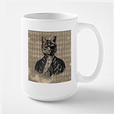 Harlequin Cat Mugs