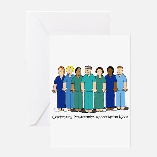 Celebrating Perfusionist Appreciati Greeting Cards