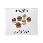 Muffin Addict Throw Blanket