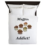 Muffin Addict Queen Duvet