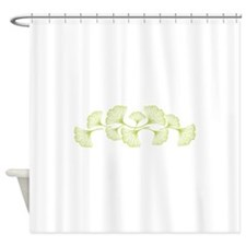 Ginko Leaves Shower Curtain