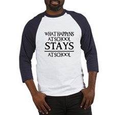 STAYS AT SCHOOL Baseball Jersey