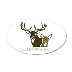 Daddys Little Buck Wall Decal