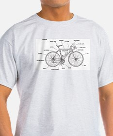 bicycle anatomy T-Shirt