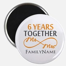 "6th anniversary 2.25"" Magnet (100 pack)"