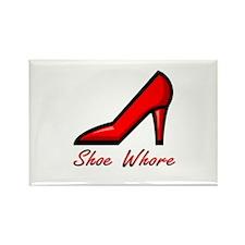 Shoe Whore Rectangle Magnet