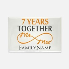 7th anniversary Rectangle Magnet