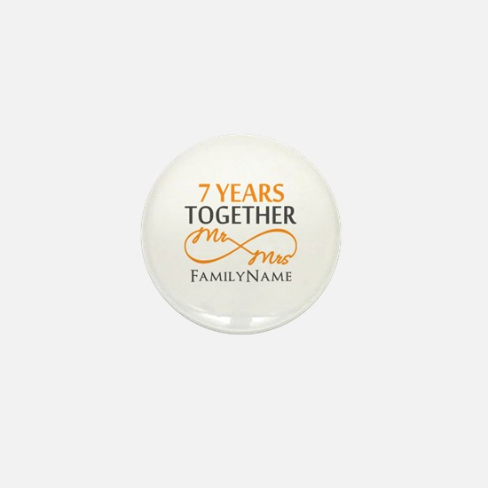 7th anniversary Mini Button