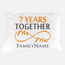 7th anniversary Pillow Case