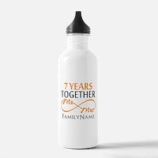 7th anniversary Water Bottle