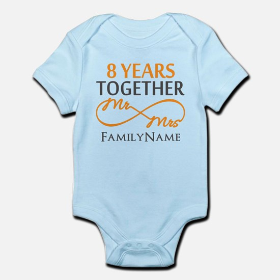 8th anniversary Infant Bodysuit