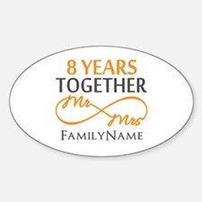 8th anniversary Decal