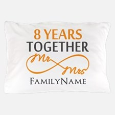 8th anniversary Pillow Case