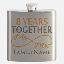 8th anniversary Flask