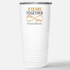 8th anniversary Travel Mug