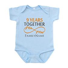 9th anniversary Infant Bodysuit
