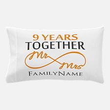 9th anniversary Pillow Case