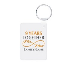 9th anniversary Keychains
