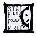 Stai calmo e passala a Pirlo Throw Pillow