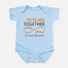 10th anniversary Infant Bodysuit