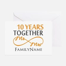 10th anniversary Greeting Card
