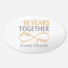 10th anniversary Decal