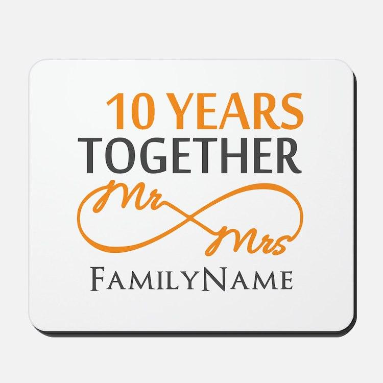 10th anniversary Mousepad