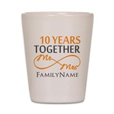 10th anniversary Shot Glass