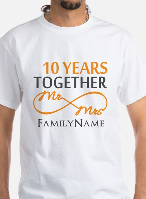 10th anniversary 10th anniversary t shirts shirts tees for Custom t shirts under 10