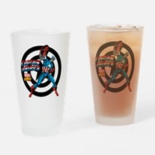Captain America Power Drinking Glass