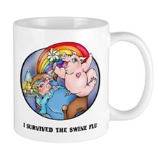 Swine Flu Mugs