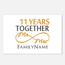 11th anniversary Postcards (Package of 8)
