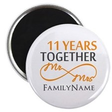 "11th anniversary 2.25"" Magnet (10 pack)"
