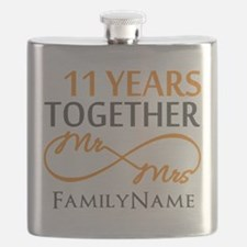 11th anniversary Flask