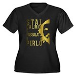 Stai calmo e passala a Pirlo Plus Size T-Shirt