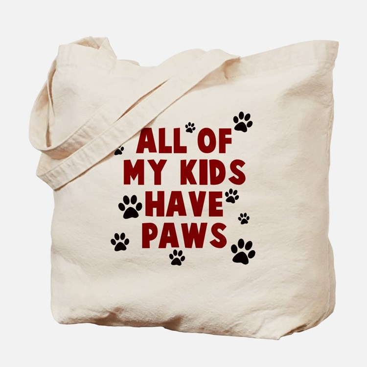 Kids paws Tote Bag