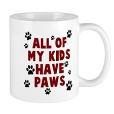 Kids paws Mugs