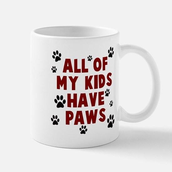 Kids paws Mugs