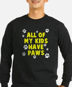 Kids paws Long Sleeve T-Shirt