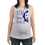Stai calmo e passala a Pirlo italia Maternity Tank